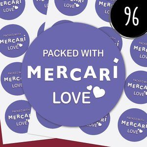 New* Packed with Love Stickers (96)